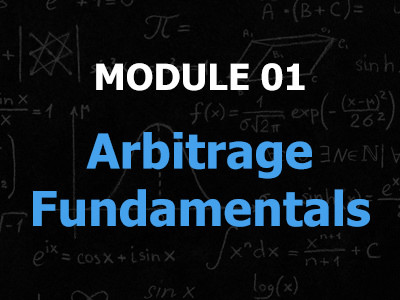 In the first module we will go over the essence of Online Arbitrage and all the basic principles with regards to selling on Amazon. So this is where we lay the foundation