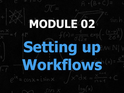 The second module is dedicated to how to arrange and set up your workflow and making sure the foundations are there before you go looking for products to resell on Amazon